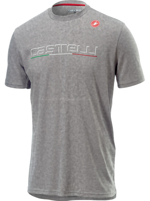 Castelli Classic T-Shirt Men melange light grey